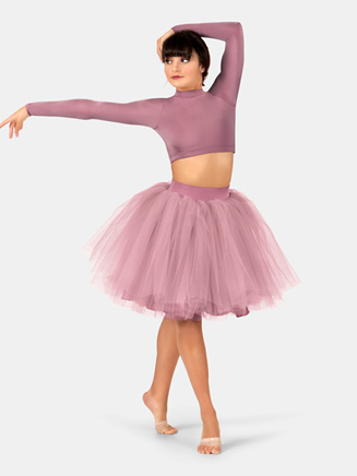 Adult Satin Tutu Skirt - Style No N7325