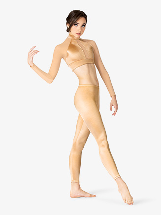 Womens Performance Satin Leggings - Style No N7690