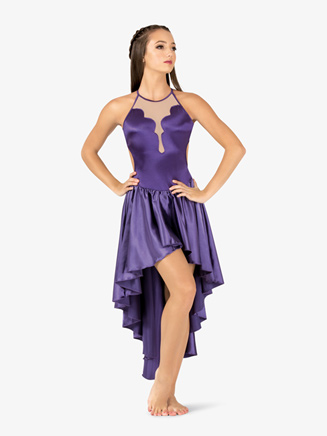 Womens Performance Satin Crisscross Camisole Dress - Style No N7699
