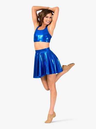 Adult Metallic Circle Skirt - Style No N7732
