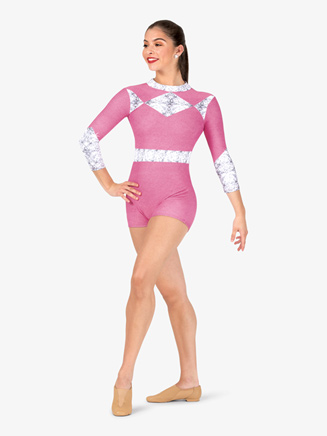 "Womens Performance ""Go Go Ranger"" Printed Shorty Unitard - Style No N7740"
