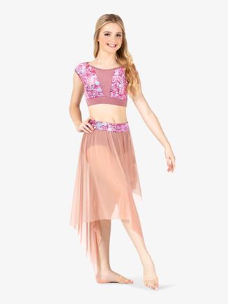 "Womens Performance ""Aria"" Mesh Skirt - Style No N7775"