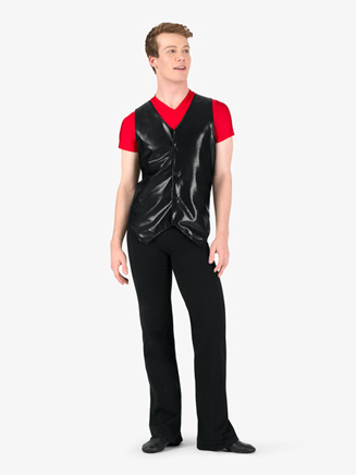 Mens Metallic V-Front Performance Vest - Style No N7824