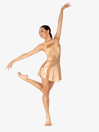 Womens Performance Satin Skirt - Style No N7852