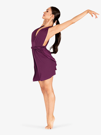 Womens V-Neck Tank Lyrical Dress - Style No N7864