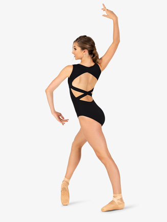 Adult Crisscross Back Tank Dance Leotard - Style No N8232