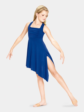 Child Lyrical Dress Twist Back - Style No N8600C
