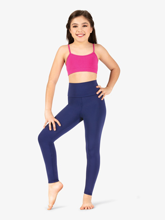 Girls Matte Nylon Dance Leggings - Style No N8642MC