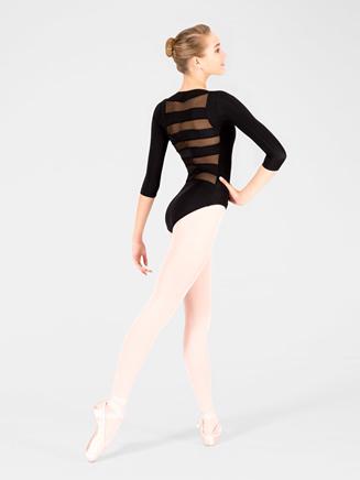 Adult Striped Back Leotard - Style No N8678