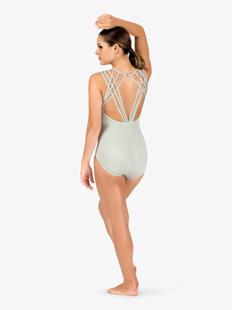 Womens Strappy Back Camisole Leotard - Style No N9009x