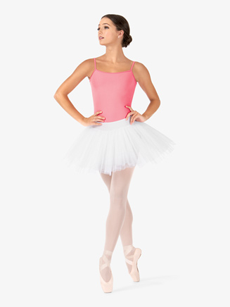 Womens Short 4-Layer Ballet Tutu Skirt - Style No N9010