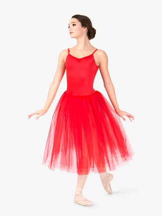 Womens Camisole 3-Layer Ballet Tutu Dress - Style No N9016