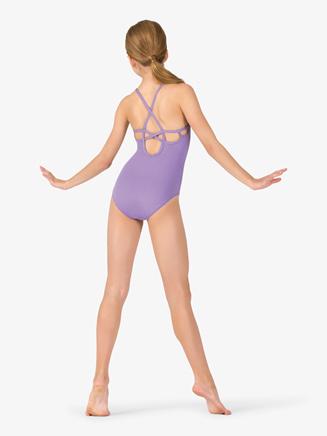 Studio Collection Girls Multi-Strap Back Cotton Camisole Leotard - Style No N9020Cx