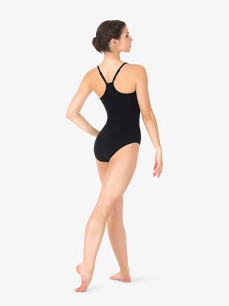 Studio Collection Womens Adjustable Cotton Camisole Leotard - Style No N9022x