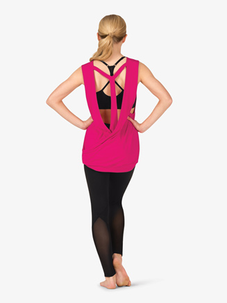Womens Active Wrap T-Back Tank Top - Style No NA157