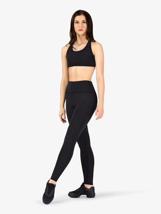 Womens Compression Basic Workout Leggings - Style No NA161