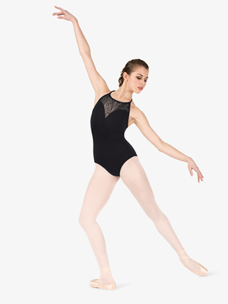"Womens ""Wild Mesh"" Sweetheart Leotard - Style No NC8921"