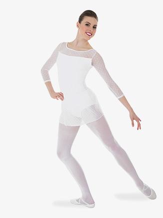 Womens Tiler Peck Polka Dot Ballet Skirt - Style No P1041