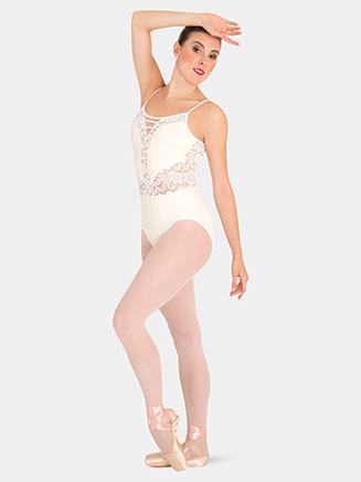 Womens Tiler Peck Lace Camisole Leotard - Style No P1101