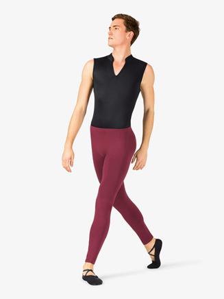 Mens Dance Cotton Leggings - Style No P21Mx