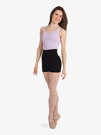 Womens High-Waist Dance Shorts - Style No P971