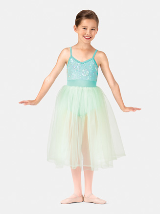 Girls Camisole Juliet Tutu Costume Dress - Style No PB2001C