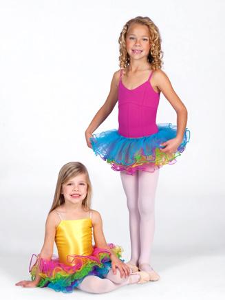 Child Rainbow Tutu Skirt - Style No PB28188C
