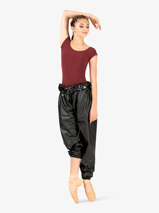Womens High Waist Garbage Bag Dance Pants - Style No RP101