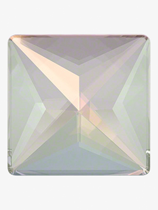 Swarovski Crystal AB Jewel Cut Square Flatback - Style No RU074x