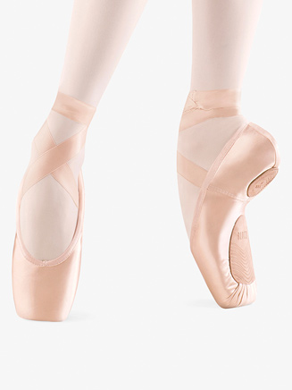 "Bloch Womens ""Dramatica II"" Stretch Satin Pointe Shoe - Style No S01732L"