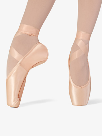 "Womens ""Superlative"" Split Sole Stretch Satin Pointe Shoe - Style No S0176L"