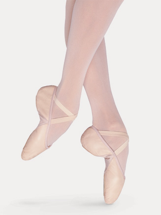 "Child ""Prolite II Hybrid"" Split-Sole Leather Ballet Slipper - Style No S0203G"