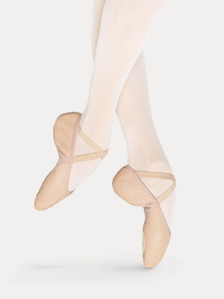 "Adult ""Prolite II Hybrid"" Split-Sole Leather Ballet Slipper - Style No S0203L"