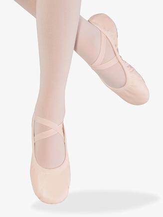 """Womens """"Odette"""" Split Sole Ballet Shoes - Style No S0246L"""