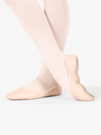 "Girls ""Giselle"" Full Sole Ballet Shoes - Style No S0249G"