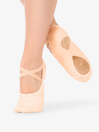 "Adult ""#1Pro"" Split-Sole Canvas Ballet Slippers - Style No S1C"