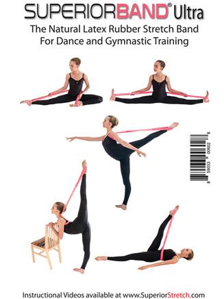 SuperiorBand Ultra Loop Dance Stretch Band - Style No SB1PK
