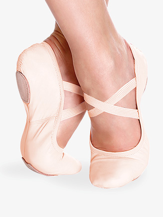 """Womens """"Brit"""" Leather Ballet Shoes - Style No SD60"""