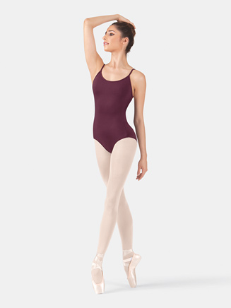Adult Camisole Strappy Back Leotard - Style No SIL5021x
