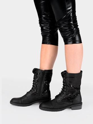 Girls Combat Boot - Style No SWAGC