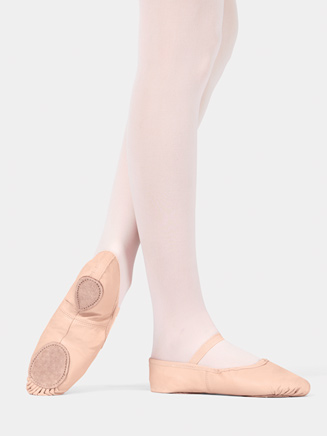 Adult Split-Sole Leather Ballet Slipper - Style No T2700