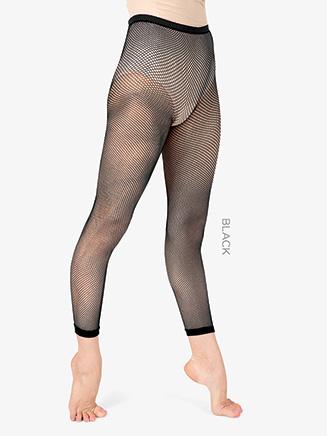 Adult Basic Capri Fishnet Dance Tight - Style No T5800