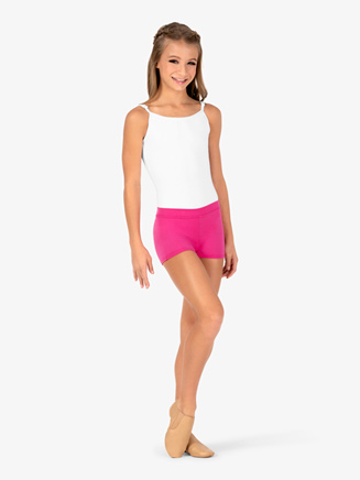 Girls Boy-Cut Low Rise Dance Short - Style No TB113C