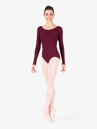 Adult Basic Long Sleeve Leotard - Style No TB135