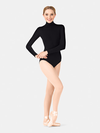 Adult Long Sleeve Turtleneck Dance Leotard - Style No TB41