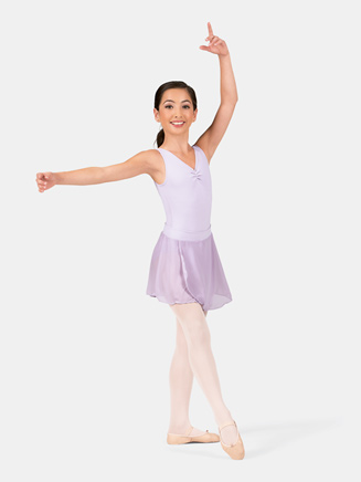 """Girls Pull-On Skirt with 1"""" Tactel Waistband - Style No TC0011C"""