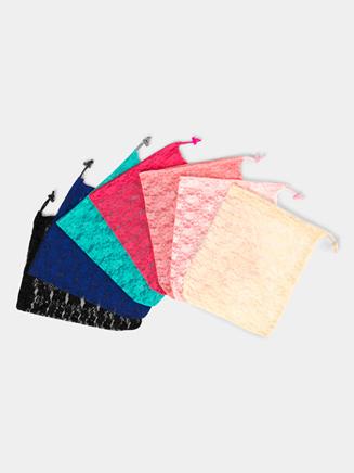 Large Lace Drawstring Bag - Style No TH101