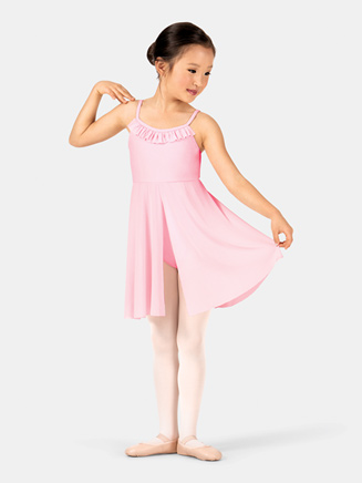 Child Ruffle Camisole Ballet Dress - Style No TH5120C