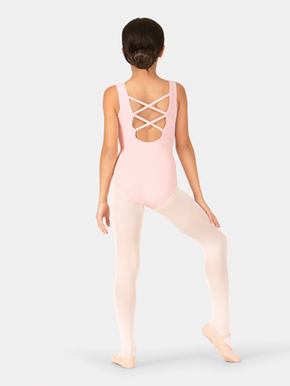 Child Crisscross Back Tank Leotard - Style No TH5122C