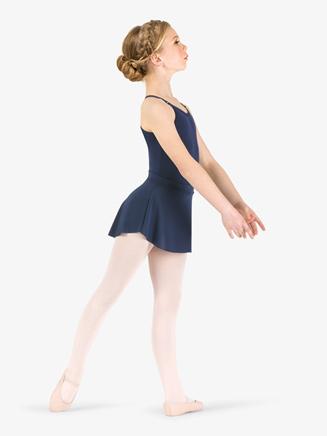 Girls Mesh Pull-On Ballet Skirt - Style No TH5125C